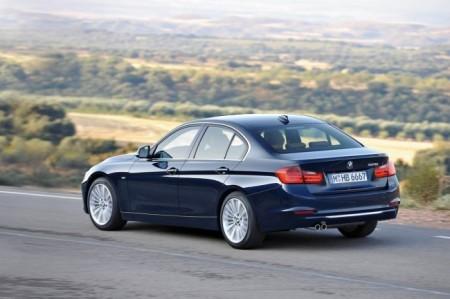 BMW 3 (F30): вид сзади