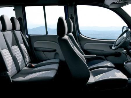 Fiat Doblo Panorama: интерьер