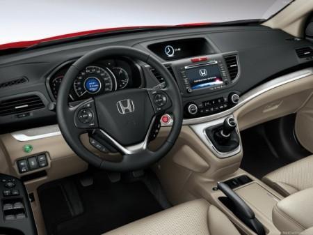 Honda CR-V 4: салон