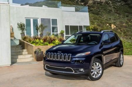 Jeep Cherokee 2014: вид спереди