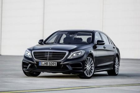 Mercedes S-Class W222: вид спереди