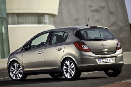 Opel Corsa D 4: вид сзади