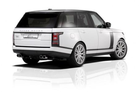 Range Rover 4 CLR от Lumma Design: вид сзади