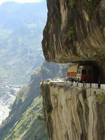 Список самых опасных дорог планеты5