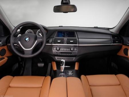 BMW X6 (E71): салон