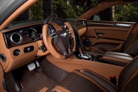 Bentley Flying Spur W12 от Mansory: салон