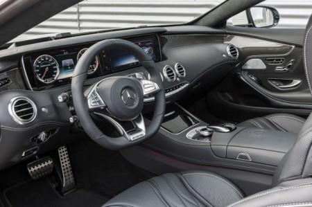 Мерседес S63 AMG Купе: салон
