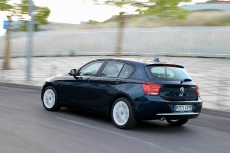 BMW 1-Series (F20): вид сзади