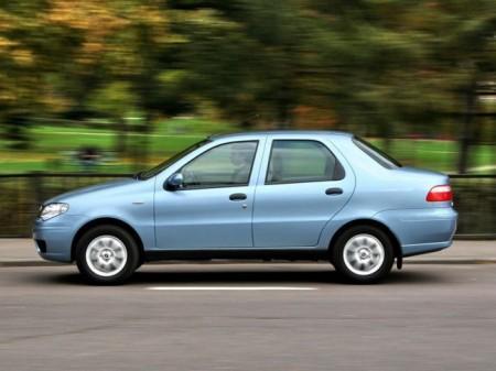 Fiat Albea: вид сбоку