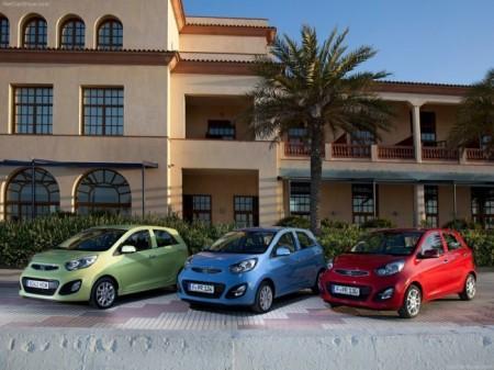 Kia Picanto 2: варианты цветов окраски кузова
