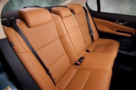 Lexus GS L10: интерьер
