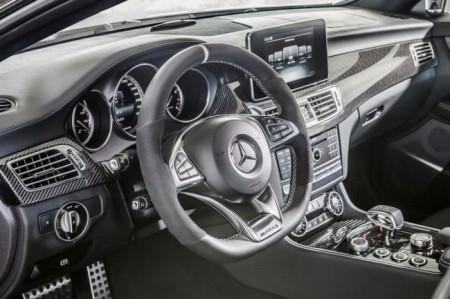 Mercedes CLS63 AMG 2015: салон