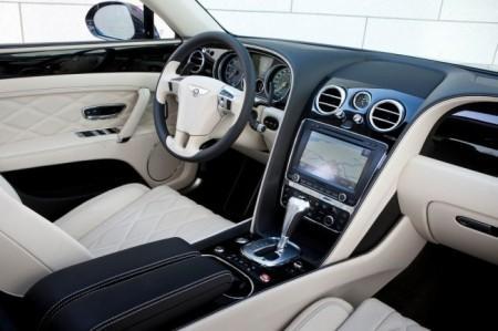 Bentley Flying Spur: салон