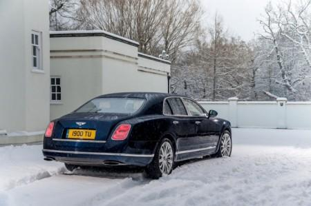 Bentley Mulsanne: экстерьер