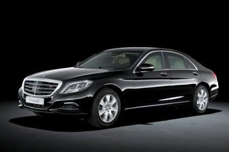 Mercedes S600 Guard: экстерьер