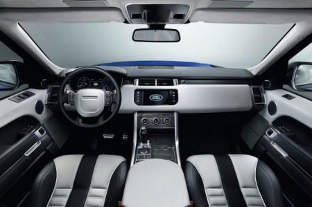 Range Rover Sport SVR: салон