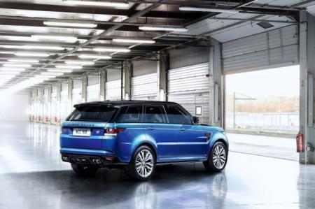 Range Rover Sport SVR: экстерьер