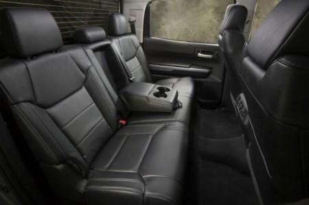 Toyota Tundra 3: интерьер