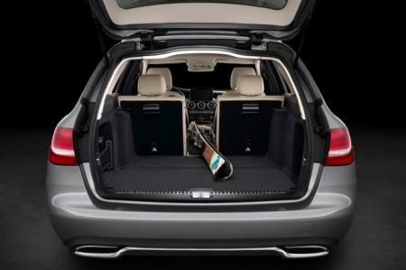 Mercedes C-Class Estate 2015: багажник