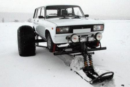 Снежная «семёрка»