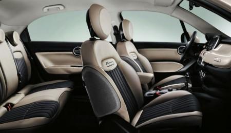 Fiat 500X интерьер