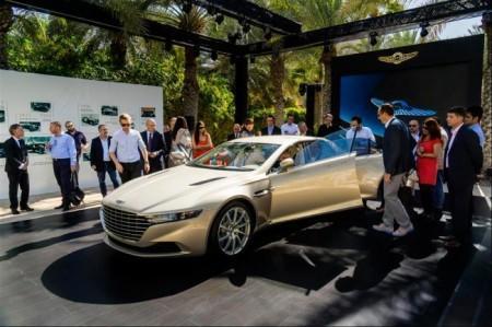 презентация Aston Martin Lagonda Taraf в Дубае