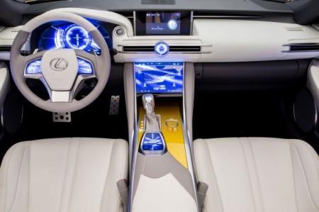 Lexus LF-C2 Concept салон