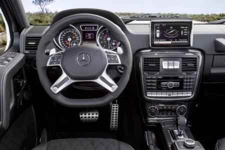 Mercedes-Benz G500 4x4 - салон