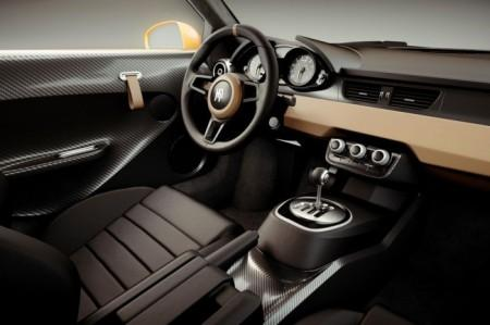 Тюнинг Audi R8 в стиле раллийной Skoda 130 RS салон