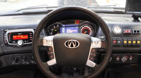 Викинг-29031 щиток приборов и руль