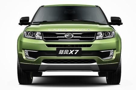 китайская копия Range Rover Evoque - LandWind X7