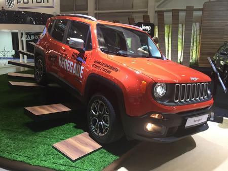 Джип Ренегад на Moscow Off-road Show 2015