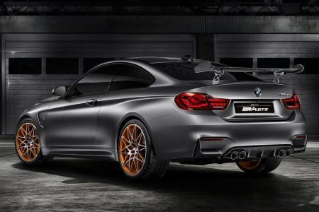 BMW M4 Coupe GTS для гонок