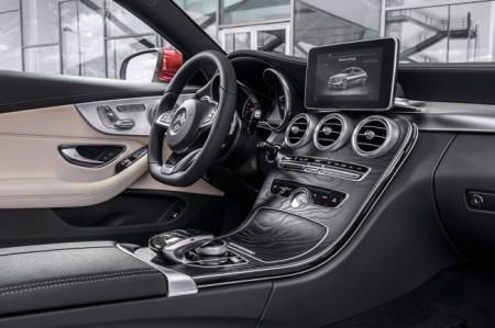 Mercedes C-Class Coupe 205 салон