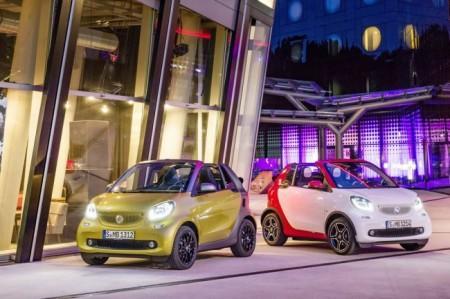Smart ForTwo кабриолет 2016