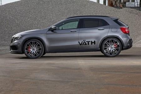 черные диски VATH для Mercedes GLA 45 AMG