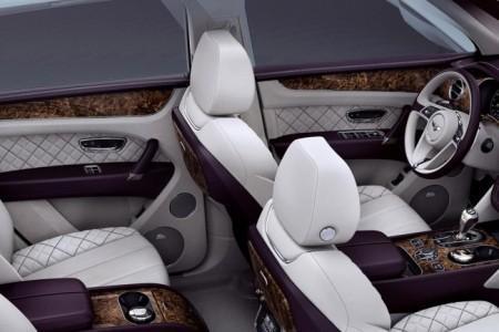 Bentley Bentayga First Edition - салон