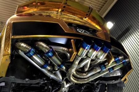 глушители Kuhl Racing для Nissan GT-R