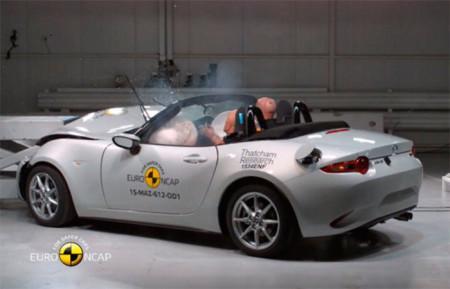краш-тест Mazda MX-5 2016