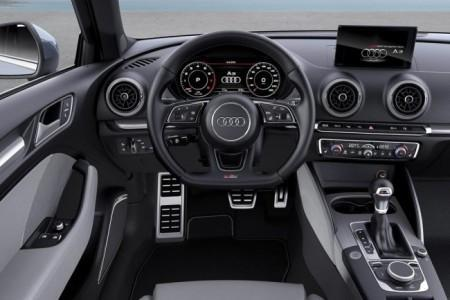 Audi A3 рестайлинг 2017 - салон