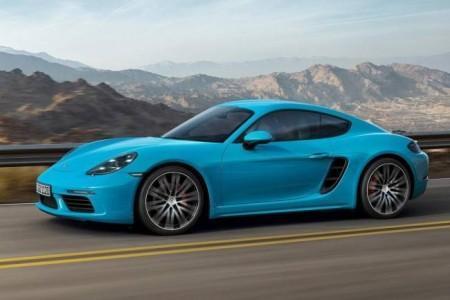 Porsche Cayman в новом кузове 718