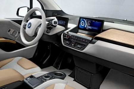 BMW i3 - салон