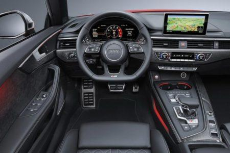 Audi S5 Cabriolet 2 - салон