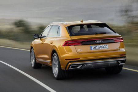 Audi Q8 - экстерьер