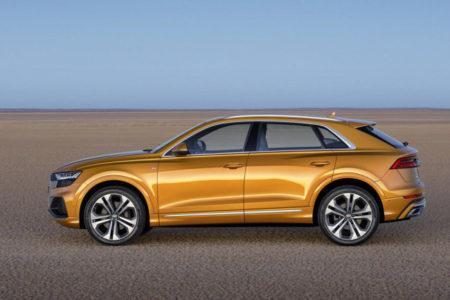 Audi Q8 2019 модельного года