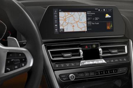 BMW 8-Series - центральная консоль