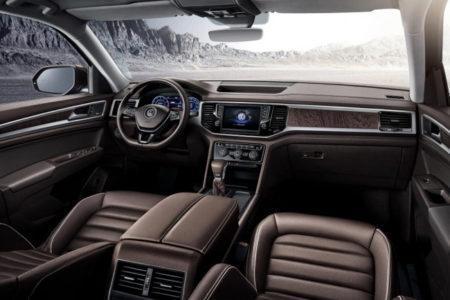 Volkswagen Teramont 2018 - салон