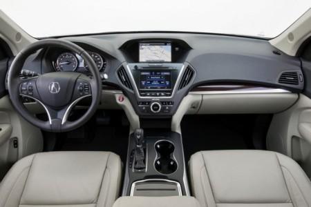 Acura MDX 3: салон