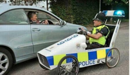 Самый необычный полицейский транспорт-2