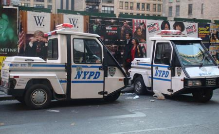 Самый необычный полицейский транспорт-3